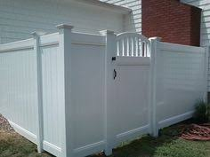 Vinyl Privacy Fence Ideas Home Remodeling And Improvements Tips With Design