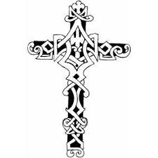 Small Picture Cross4 Coloring Page