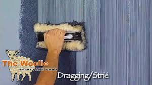 dragging strie how to faux finish painting by the woolie how to paint walls fauxpainting you