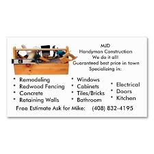 1978 Best Handyman Business Cards Images On Pinterest Business