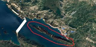 Image result for gradnja peljeskog mosta karta