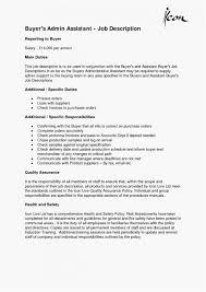 Admin Job Profile Resume Personal Assistant Job Description Resume Perfect
