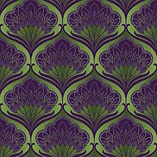 wallpaper pattern purple and green. Perfect Purple Arthouse Pavonis Emerald City Green And Purple Wallpaper Modern Home Dcor To Wallpaper Pattern And N