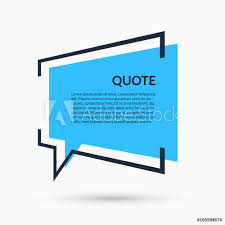 Photo Art Print Quote Speech Bubble Blank Template Text In