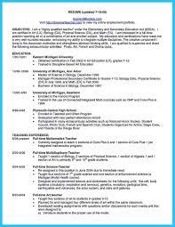 Job Resume Example Unique Job Resume Examples For Students Unique