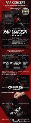 Dark Flyer Flyer Template For Rap Concert By Elegantflyer