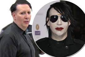 marilyn manson looks dramatically diffe in rare public outing