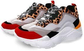 Leopard Antonia Chunky Trainer 5