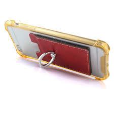 <b>Car Magnetic Ring</b> Bracket Mobile Phone Back Sticker PU <b>Leather</b> ...