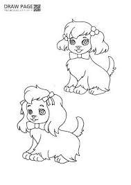 犬の塗り絵 無料 子供大人高齢者まで三世代で楽しめる A4 可愛い