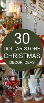 30 Dollar Store Christmas Decor Ideas Try your hand at some of these  awesome DIY dollar store Christmas decorations that look like they came  from a home ...