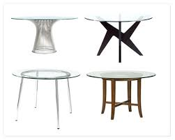 glass top round dining table splurge vs steal glass top dining tables blog glass round table