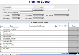 Training Tracking Template Expense Report Management Archives My Excel Templates