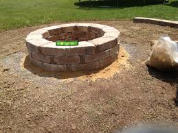 fresh fire pit blocks home depot finished fire pit rumble stone from home depot