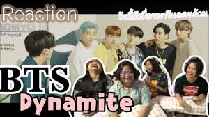 BTS - Dynamite MV ( Thai Reaction ) - YouTube