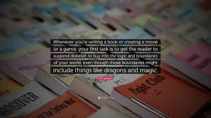 """How To Write A Quote Enchanting RA Salvatore Quote """"Whenever You're Writing A Book Or Creating A"""