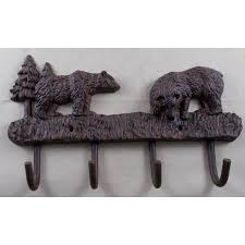 Bear Coat Rack Best Cast Iron Bear Coat Rack Key Holder Walmart