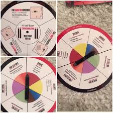 but smashbox has made it simple for their customers in having this colour correcting wheel so it shows what colour you need to use in order to cover your