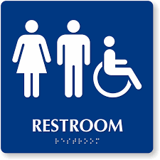 Handicap Bathroom Signs Best Handicap Bathroom Signs Men Women Accessible R 48