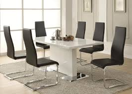 appealing modern dining table and chairs uk modern kitchen table