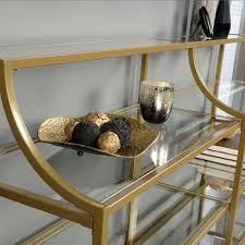 details better homes and gardens nola console table