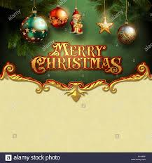 Beautiful Christmas Design Beautiful Christmas Card Stock Photo 223720519 Alamy