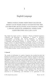 Pdf I English Language