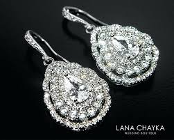 cz chandelier earrings cubic bridal earrings teardrop crystal wedding earrings chandelier earrings sparkly crystal earrings prom cz chandelier earrings