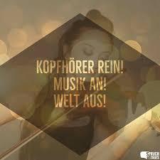 Kopfhörer Rein Musik An Welt Aus