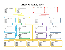 Family Tree Printable Template 50 Free Family Tree Templates Word Excel Pdf Template Lab