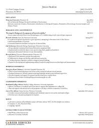 Student Resume Objectives Career Objective College 1 Example For