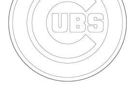 Small Picture chicago cubs coloring pages Just Colorings