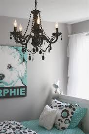 girls bedroom endearing ideas for black crystal girl chandelier
