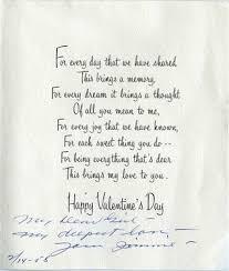 To My Valentine From Mr J C Penney Smu