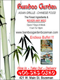 in striving to be the finest chinese restaurant in the bozeman we have drawn upon our heritage and check complete bamboo garden