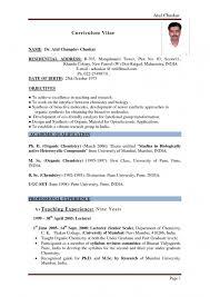Free Online Resume Format Englishr Cv Template Word Esl Resume Sample Language English