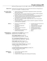 Free Nurse Resume Sample Lpn Nursing Template Templates Rn New