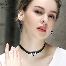 <b>Warme Farben</b> Crystal from Swarovski Women Necklace Baroque ...