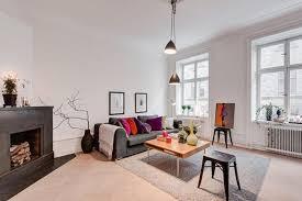 minimalist scandinavian living room