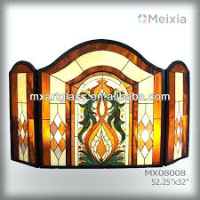 stained glass fireplace stained glass fireplace screen stained glass fireplace screen supplieranufacturers at alibabacom