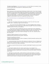 Resume Introduction Letter Elegant 36 New Objectives For A Resume