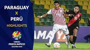 Paraguay 2-3 Perú I Preolímpico 2020 - YouTube