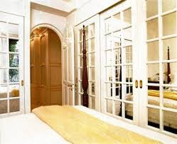 Beautiful Decoration Mirrored French Closet Doors Pilotproject Org