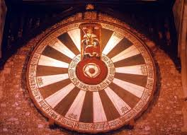 the so called round table of king arthur at castle hall winchester the twenty
