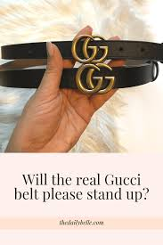 Fake Designer Belts The Difference Between The Real Gucci Belt And The Fake One