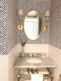 powder room lighting home design photos. fresh indigowhiteaged brass powder room and laundry roombefore after lighting home design photos s