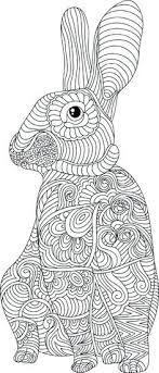 Rabbit Colouring Pages Pdf Coloring Beautiful Page