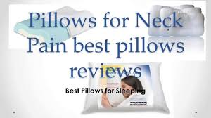 pillow good for neck. best pillows for neck pain reviews - good pillow sleeping on your side youtube
