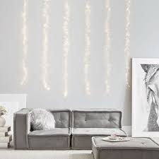 waterfall string lights for bedroom