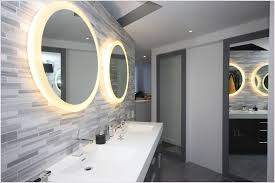lighted wall mirror. contemporary lighted bathroom wall mirror r